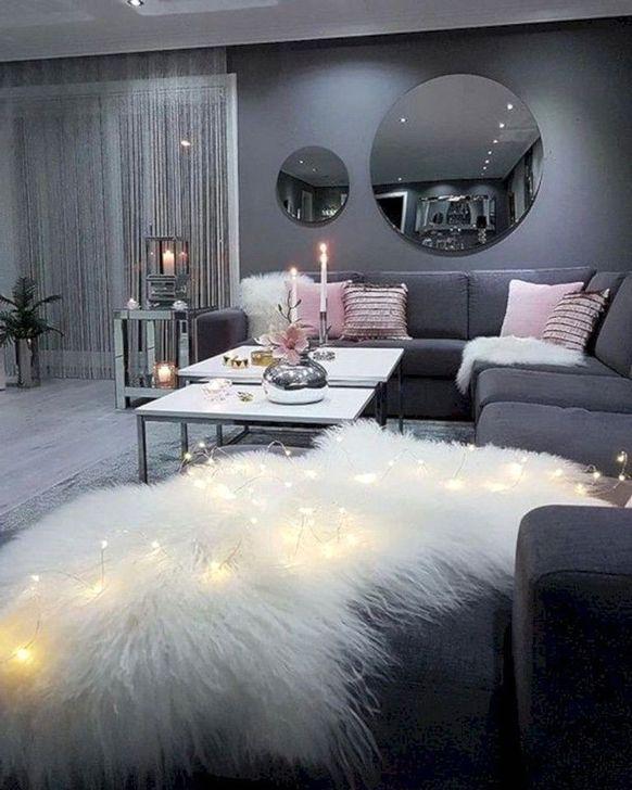 Creative Lighting Decor Ideas For Living Room Design 01