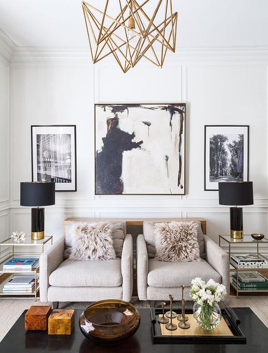 Creative Lighting Decor Ideas For Living Room Design 36