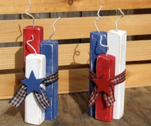 Easy And Cheap DIY 4th Of July Decoration Ideas 47