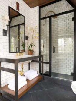 Elegant Wood Decor Ideas For Your Bathroom Design 18