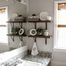 Elegant Wood Decor Ideas For Your Bathroom Design 31