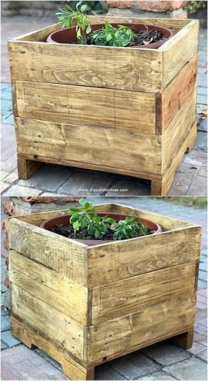 Genius DIY Projects Pallet For Garden Design Ideas 08