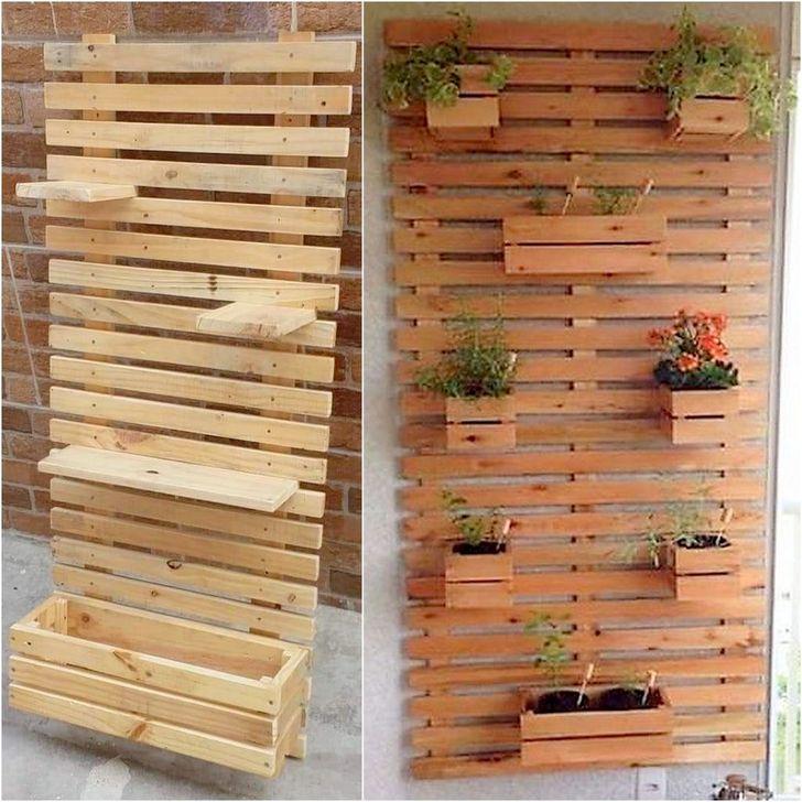 Genius DIY Projects Pallet For Garden Design Ideas 18