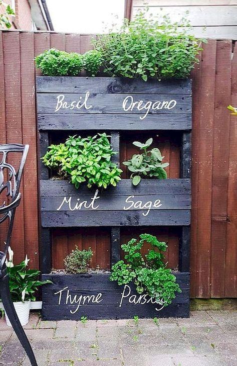 Genius DIY Projects Pallet For Garden Design Ideas 43