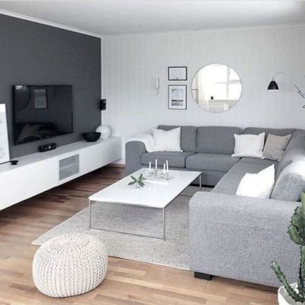 Impressive Small Living Room Ideas For Apartment 07