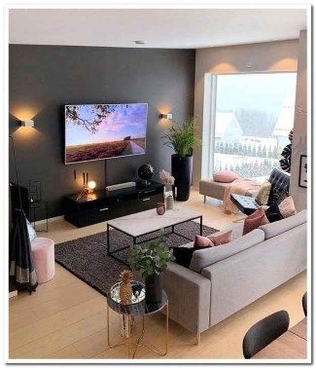 Impressive Small Living Room Ideas For Apartment 12
