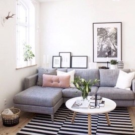 Impressive Small Living Room Ideas For Apartment 30