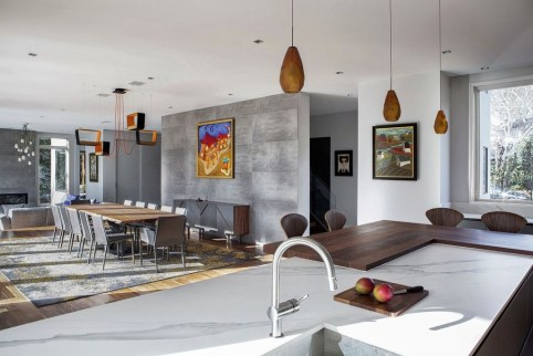Inspiring Open Concept Kitchen You'll Totally Love 33