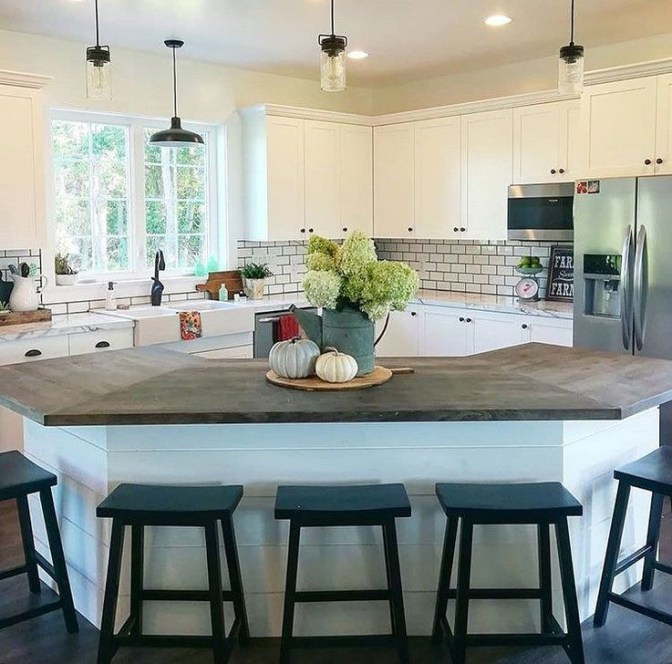 Inspiring Open Concept Kitchen You'll Totally Love 41