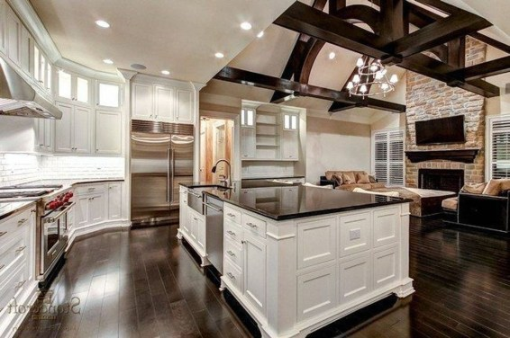 Inspiring Open Concept Kitchen You'll Totally Love 48
