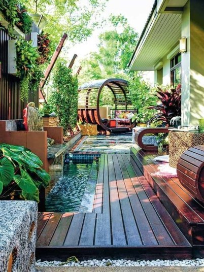 Magnificient Outdoor Lounge Ideas For Your Home 30