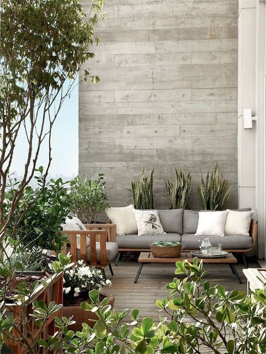 Magnificient Outdoor Lounge Ideas For Your Home 39