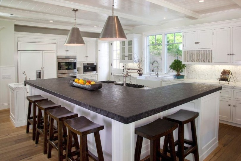 Marvelous Kitchen Island Ideas With Seating For Kitchen Design 16