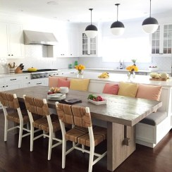Marvelous Kitchen Island Ideas With Seating For Kitchen Design 23