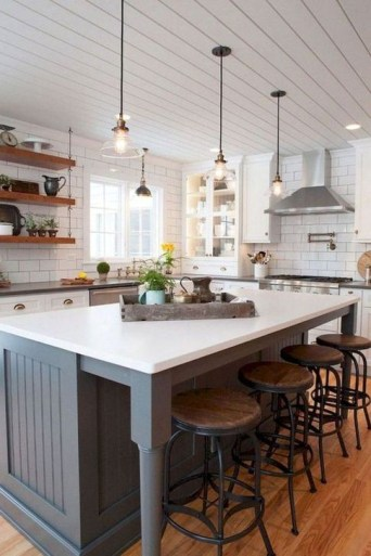 Marvelous Kitchen Island Ideas With Seating For Kitchen Design 26