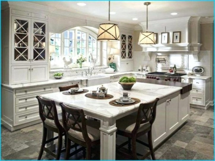 Marvelous Kitchen Island Ideas With Seating For Kitchen Design 27