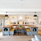 Marvelous Kitchen Island Ideas With Seating For Kitchen Design 40