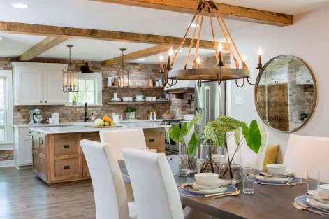 Minimalst Open Concept Kitchen And Dining Room Design Ideas 38