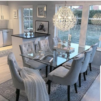 Minimalst Open Concept Kitchen And Dining Room Design Ideas 49