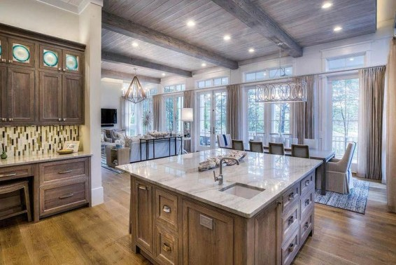Minimalst Open Concept Kitchen And Dining Room Design Ideas 50