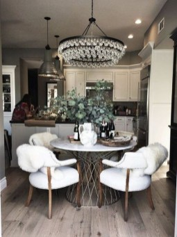 Modern Round Dining Table Design Ideas For Inspiration 08