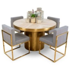 Modern Round Dining Table Design Ideas For Inspiration 12