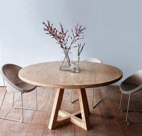 Modern Round Dining Table Design Ideas For Inspiration 17