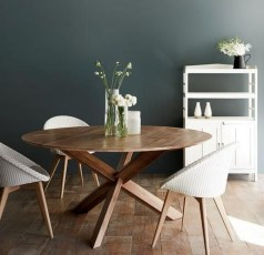 Modern Round Dining Table Design Ideas For Inspiration 47