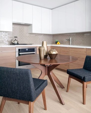Modern Round Dining Table Design Ideas For Inspiration 48
