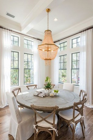 Modern Round Dining Table Design Ideas For Inspiration 49
