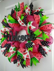 Most Popular DIY Summer Wreath You Will Totally Love 14