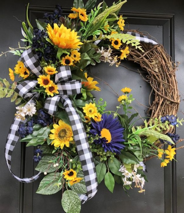 Most Popular DIY Summer Wreath You Will Totally Love 48