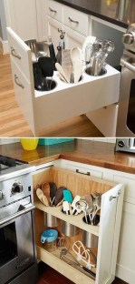 Smart Hidden Storage Ideas For Kitchen Decor 01