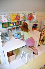 Stunning Desk Design Ideas For Kids Bedroom 01