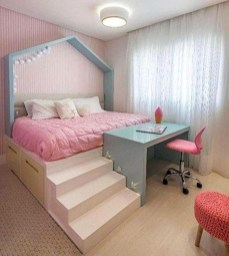 Stunning Desk Design Ideas For Kids Bedroom 14