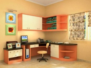 Stunning Desk Design Ideas For Kids Bedroom 29