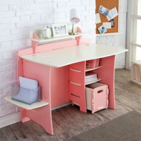 Stunning Desk Design Ideas For Kids Bedroom 50