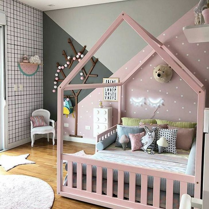Totally Inspiring Bedroom Decor Ideas For Baby Girls 49