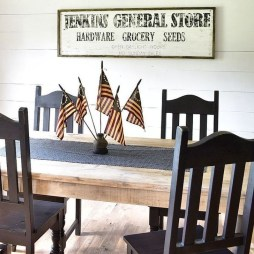 Unique Farmhouse Fourth July Decor Ideas That Inspire You 11
