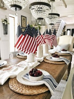 Unique Farmhouse Fourth July Decor Ideas That Inspire You 18