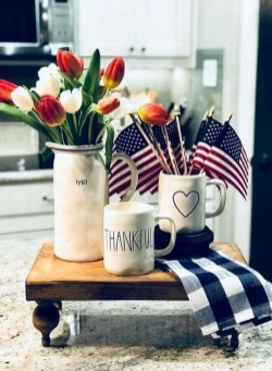 Unique Farmhouse Fourth July Decor Ideas That Inspire You 19