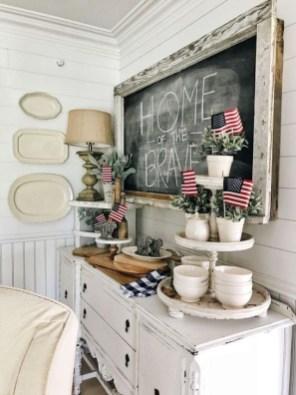 Unique Farmhouse Fourth July Decor Ideas That Inspire You 26