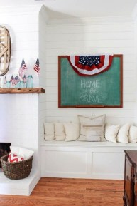 Unique Farmhouse Fourth July Decor Ideas That Inspire You 40