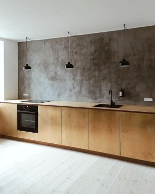 Attractive Kitchen Design Ideas With Industrial Style 09