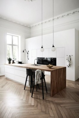 Attractive Kitchen Design Ideas With Industrial Style 32