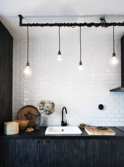 Attractive Kitchen Design Ideas With Industrial Style 37