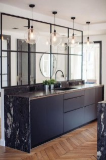 Attractive Kitchen Design Ideas With Industrial Style 40