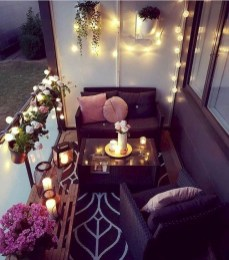 Awesome Small Balcony Ideas To Make Your Apartment Look Great 22