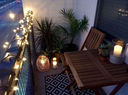 Awesome Small Balcony Ideas To Make Your Apartment Look Great 26