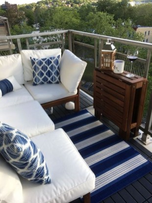 Awesome Small Balcony Ideas To Make Your Apartment Look Great 32